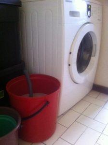 washing machine bucket
